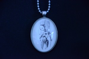 Firebird pendant art by the woodsides kayla and brent woodside neeka pendant aloadofball Images