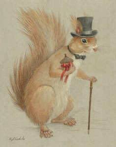gentleman squirrel